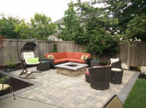 An Outdoor Living Space