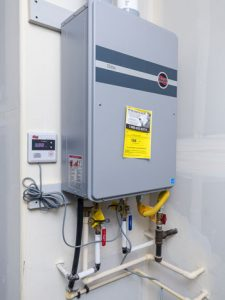 Advantages Of Tankless Water Heaters 187 Evergreen Homes
