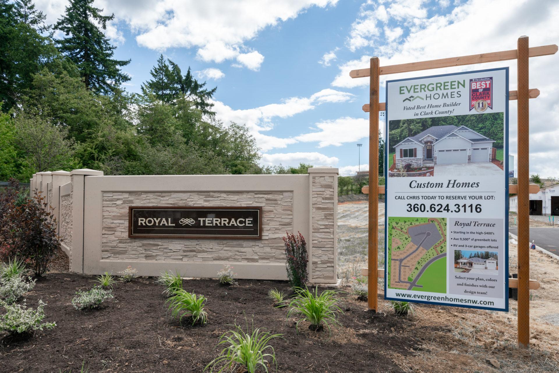 Evergreen Homes : Royal Terrace