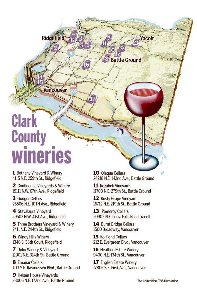 Clark County Wineries